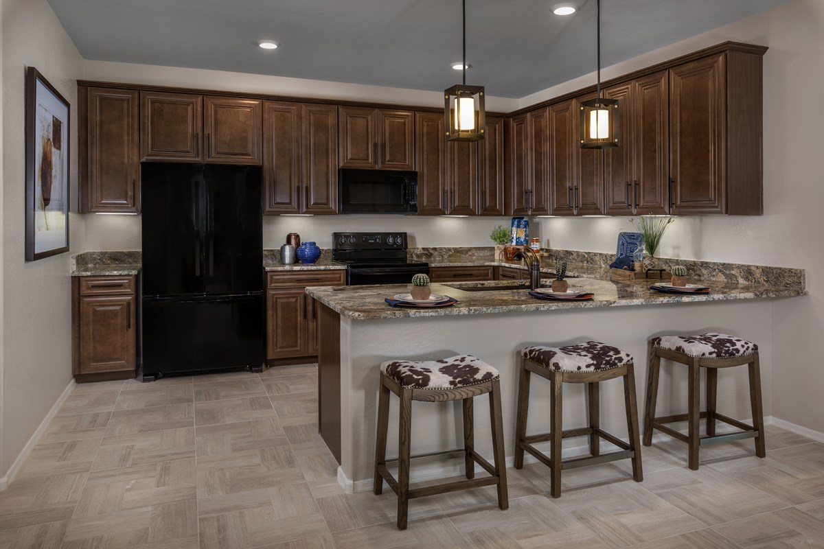 New Homes in Phoenix, AZ - The Villas at Rancho Paloma Plan 2304 Kitchen