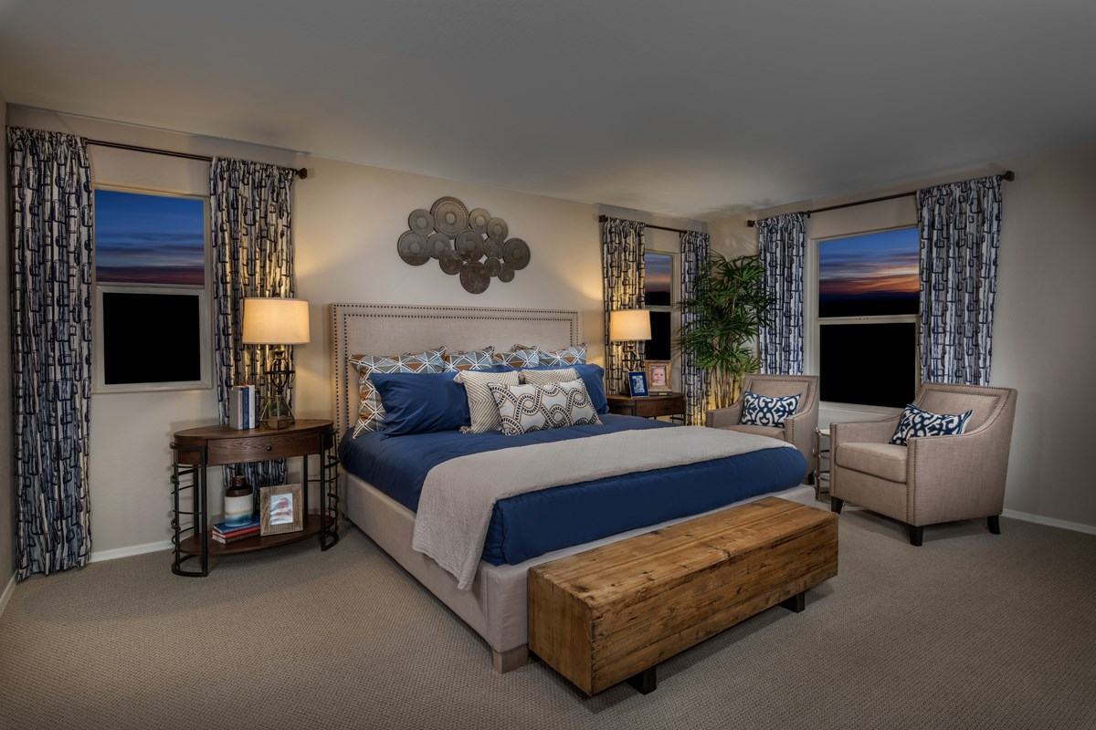New Homes in Phoenix, AZ - The Villas at Rancho Paloma Plan 2304 Master Bedroom