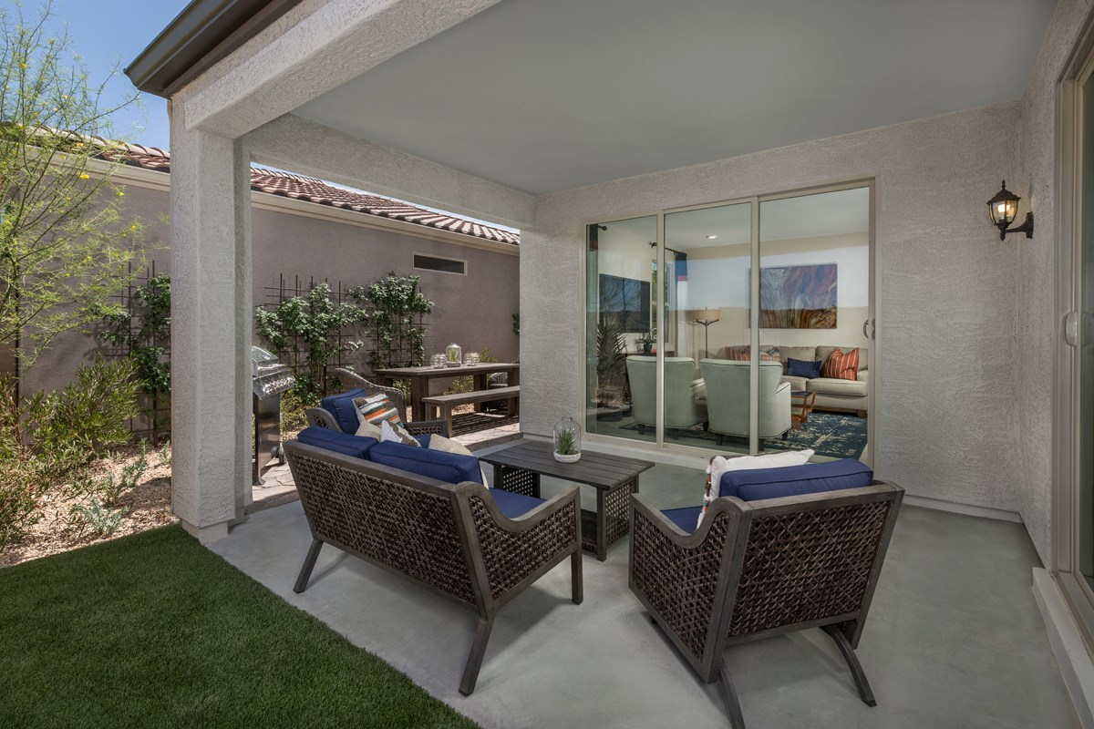 New Homes in Phoenix, AZ - The Villas at Rancho Paloma Plan 2304 Patio