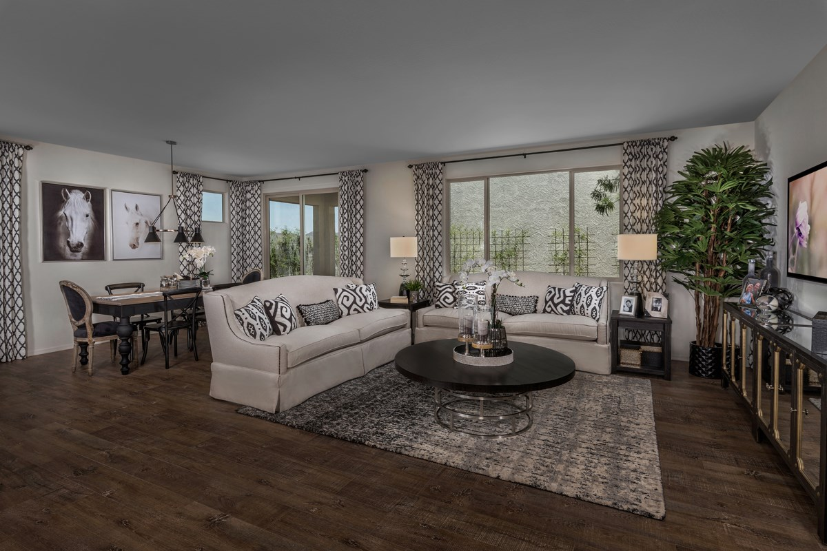 New Homes in Phoenix, AZ - The Villas at Rancho Paloma Plan 2367 Great Room