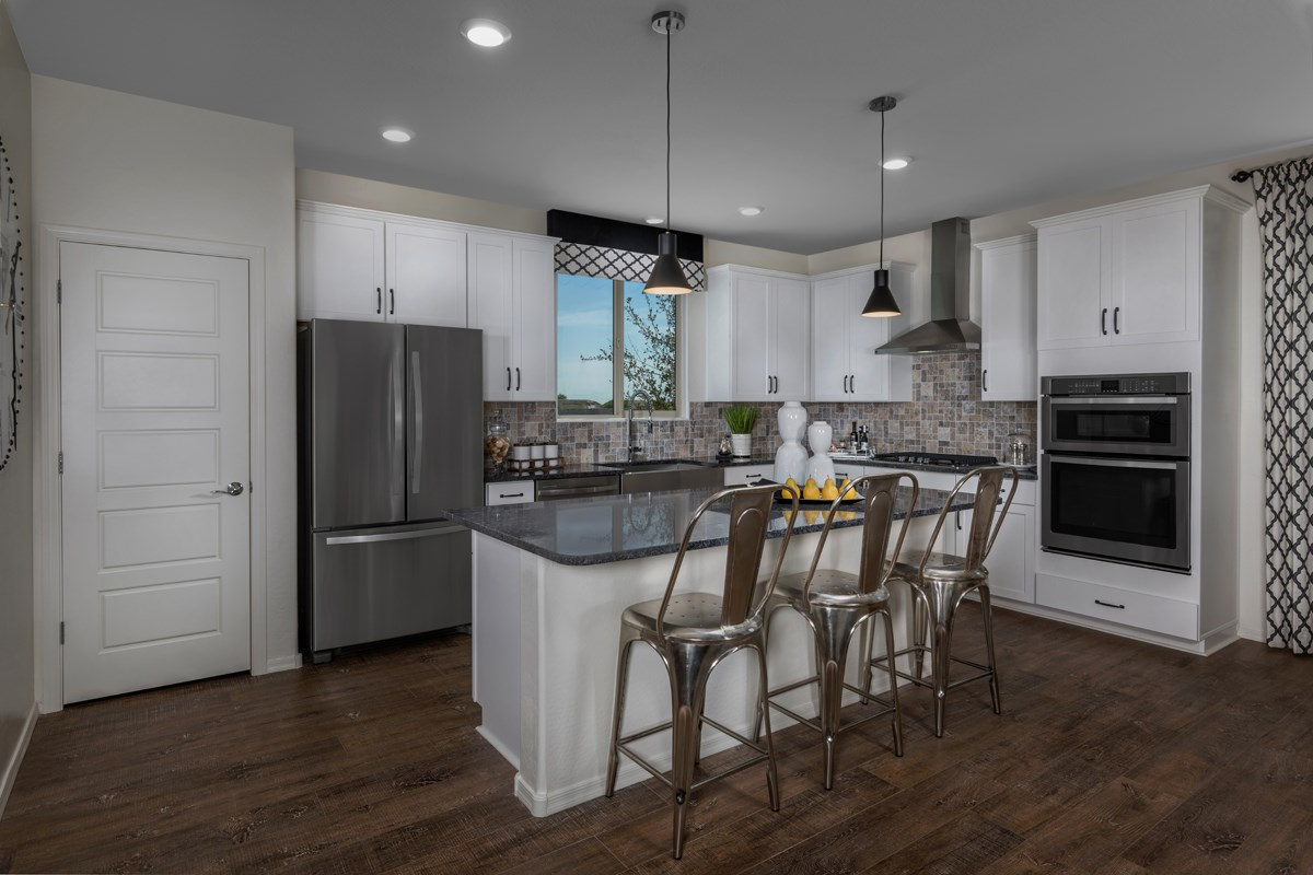 New Homes in Phoenix, AZ - The Villas at Rancho Paloma Plan 2367 Kitchen