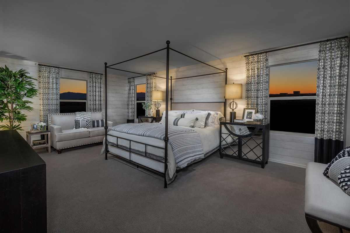 New Homes in Phoenix, AZ - The Villas at Rancho Paloma Plan 2367 Master Bedroom