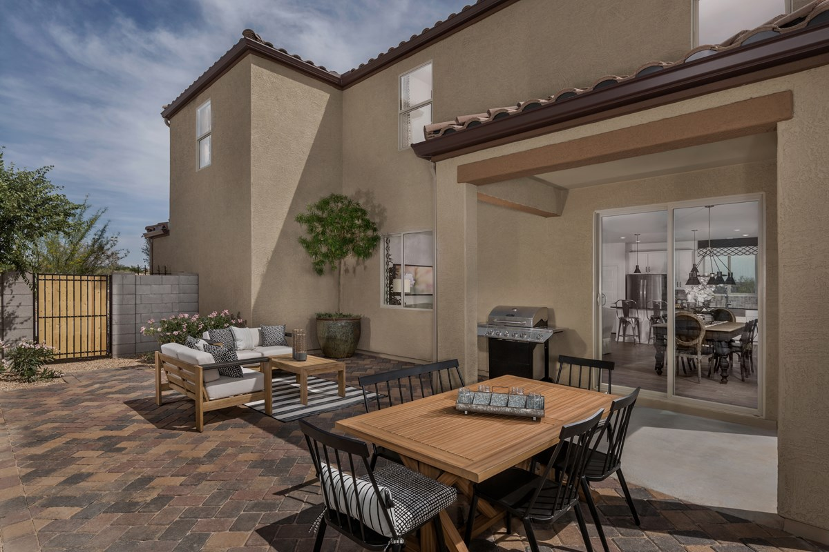 New Homes in Phoenix, AZ - The Villas at Rancho Paloma Plan 2367 Patio