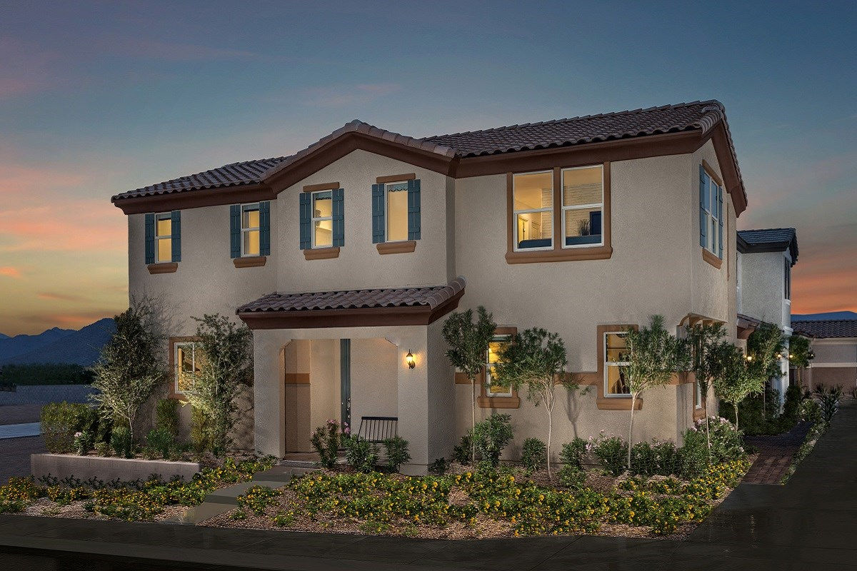New Homes in Phoenix, AZ - The Villas at Rancho Paloma Plan 2367