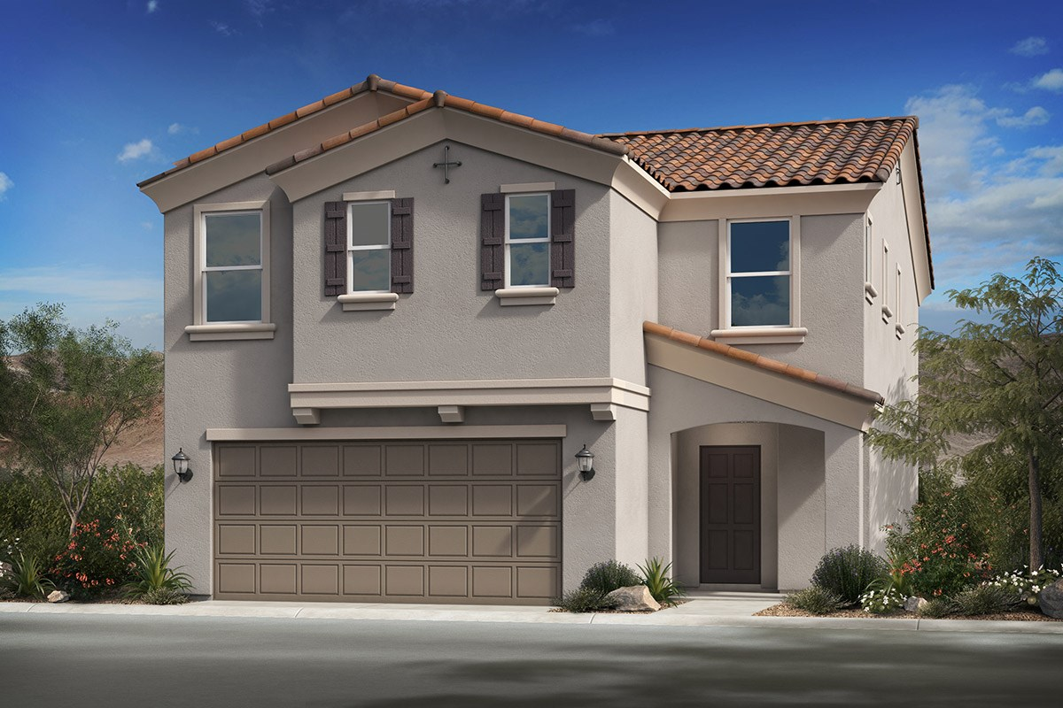 New Homes in Phoenix, AZ - The Villas at Rancho Paloma Elevation B
