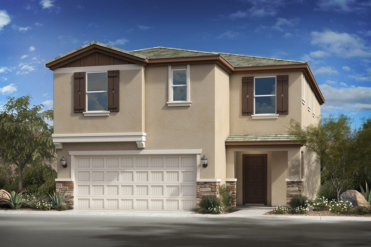 New Homes in Phoenix, AZ - The Villas at Rancho Paloma Elevation C