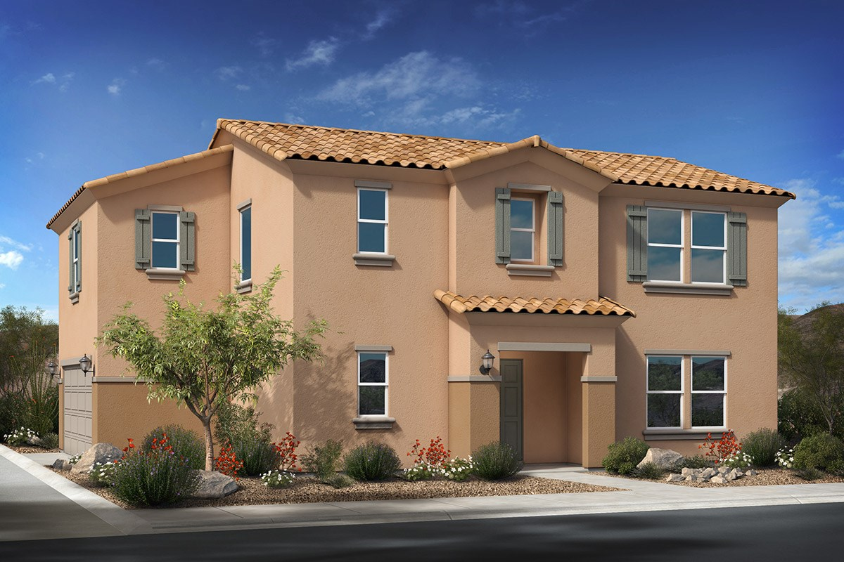 New Homes in Phoenix, AZ - The Villas at Rancho Paloma Elevation A