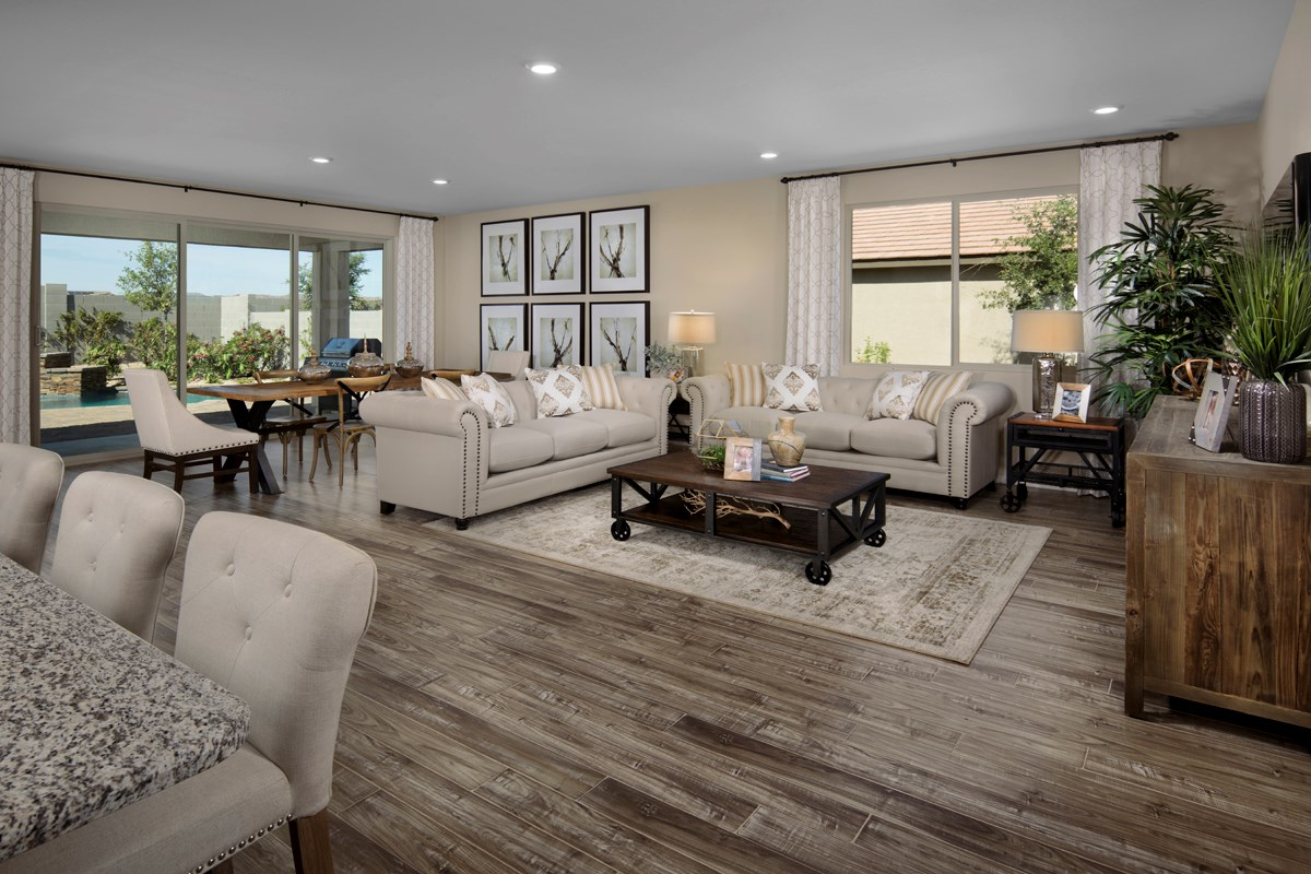 New Homes in Surprise, AZ - Sanverno at Desert Oasis Plan 1888 Great Room