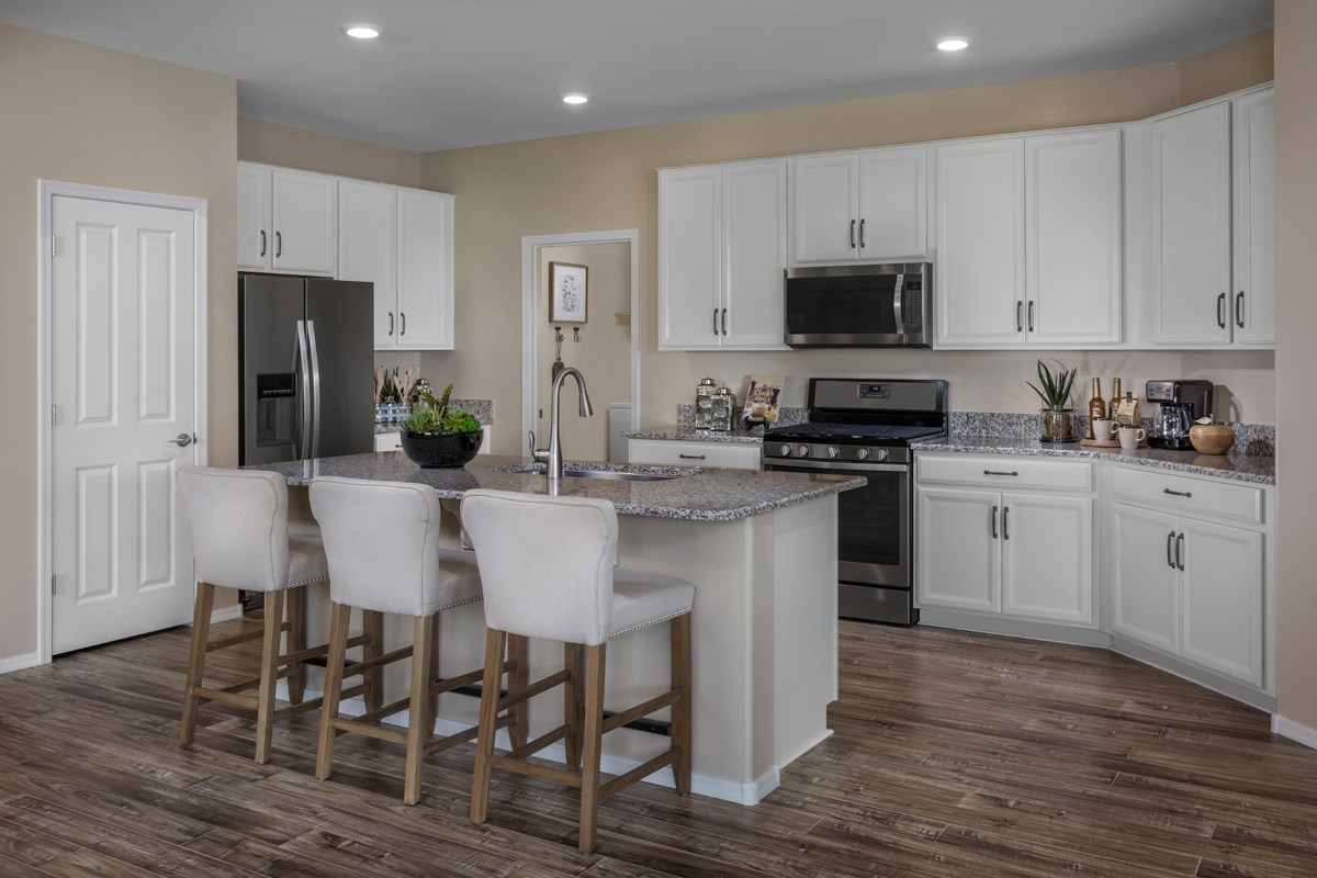 New Homes in Surprise, AZ - Sanverno at Desert Oasis Plan 1888 Kitchen