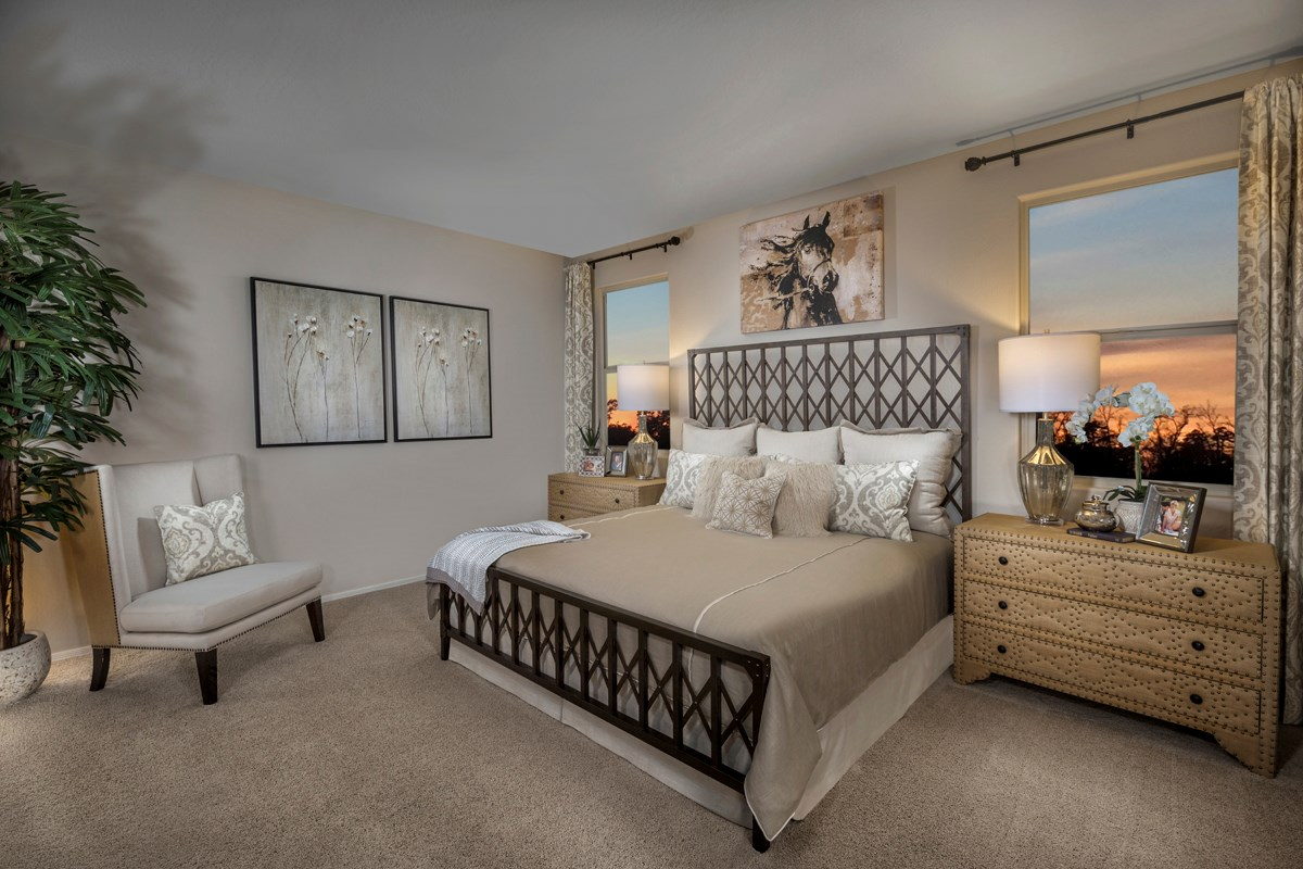New Homes in Surprise, AZ - Sanverno at Desert Oasis Plan 1888 Master Bedroom