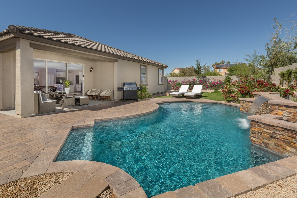 New Homes in Surprise, AZ - Sanverno at Desert Oasis Plan 1888 Patio