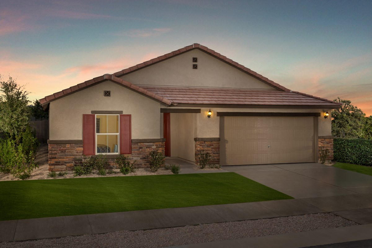 New Homes in Surprise, AZ - Sanverno at Desert Oasis Plan 2188