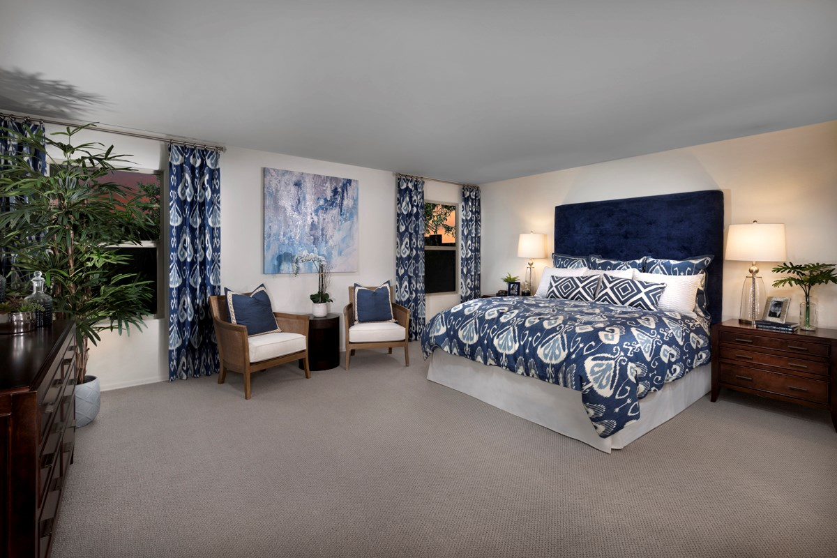 New Homes in Surprise, AZ - Sanverno at Desert Oasis Plan 2188 Master Bedroom