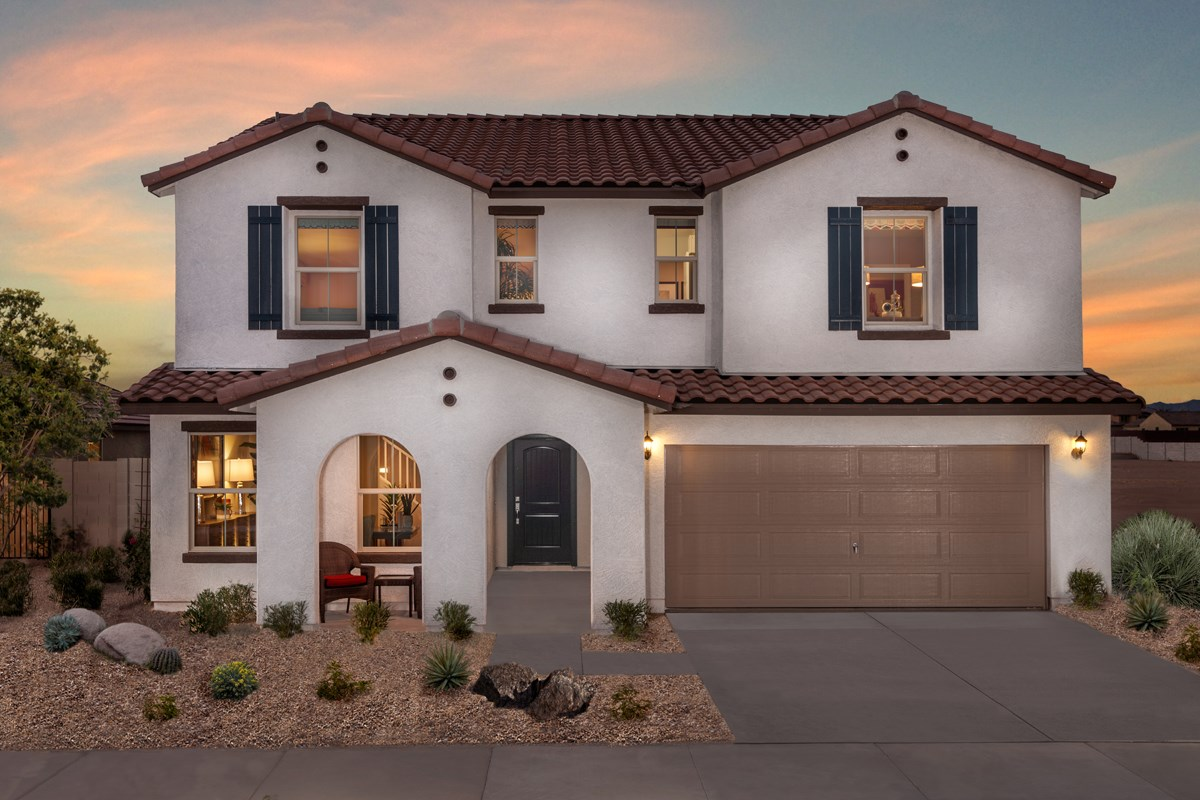 New Homes in Surprise, AZ - Sanverno at Desert Oasis Plan 2608
