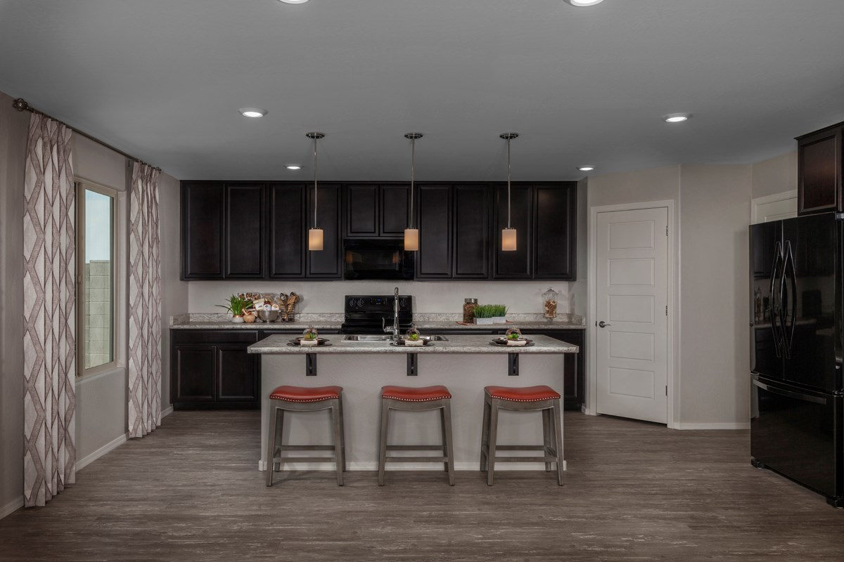 New Homes in Surprise, AZ - Sanverno at Desert Oasis Plan 2608 Kitchen