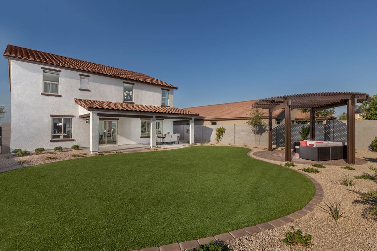 New Homes in Surprise, AZ - Sanverno at Desert Oasis Plan 2608 Patio