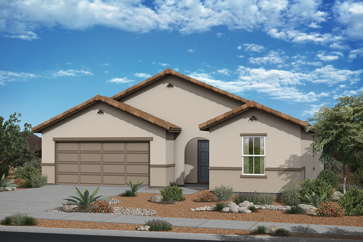 New Homes in Surprise, AZ - Sanverno at Desert Oasis Plan 1621 Elevation A