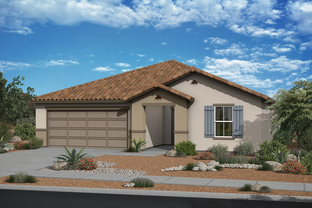 New Homes in Surprise, AZ - Sanverno at Desert Oasis Plan 2188 Elevation A