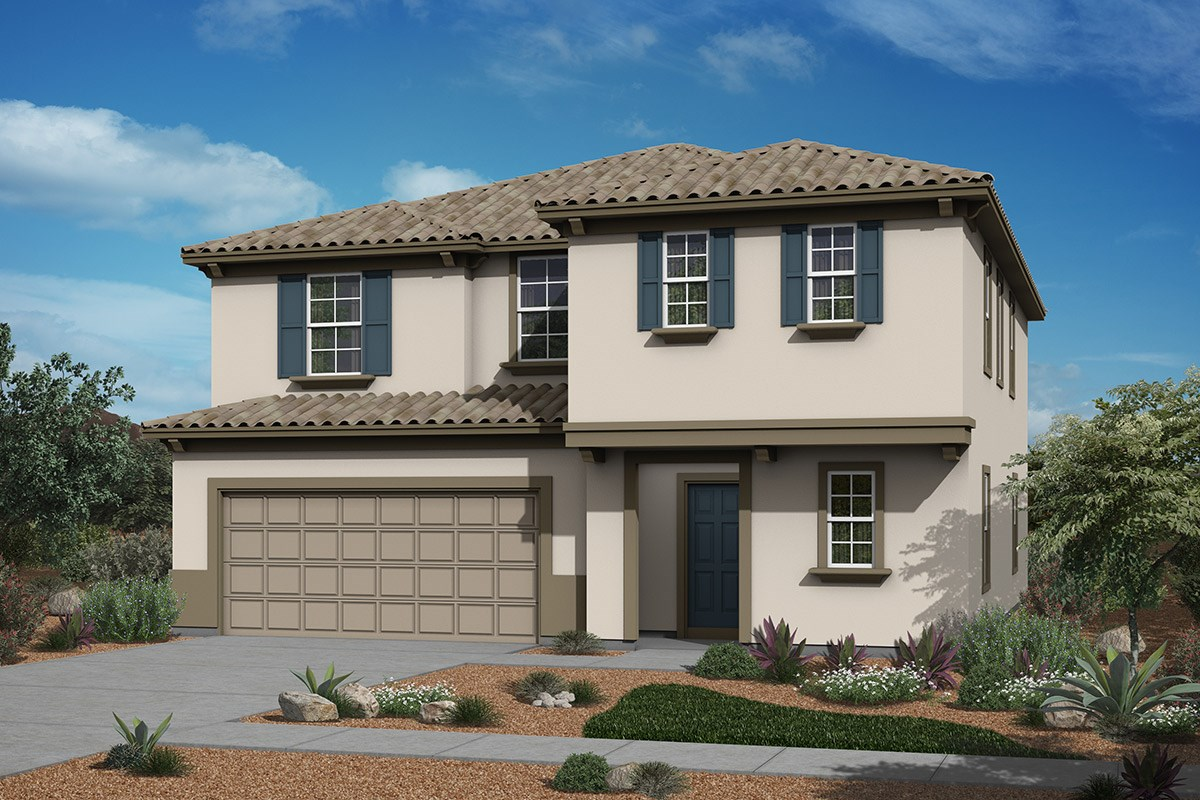 New Homes in Surprise, AZ - Sanverno at Desert Oasis Plan 2358 Elevation B