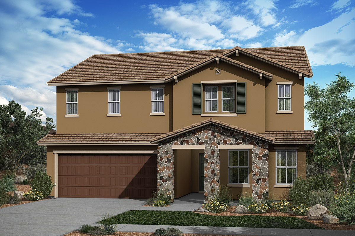 New Homes in Surprise, AZ - Sanverno at Desert Oasis Plan 2608 Elevation C