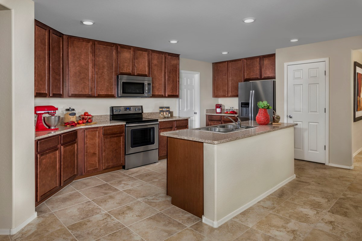 New Homes in Gilbert, AZ - Segretto Plan 1958 Kitchen