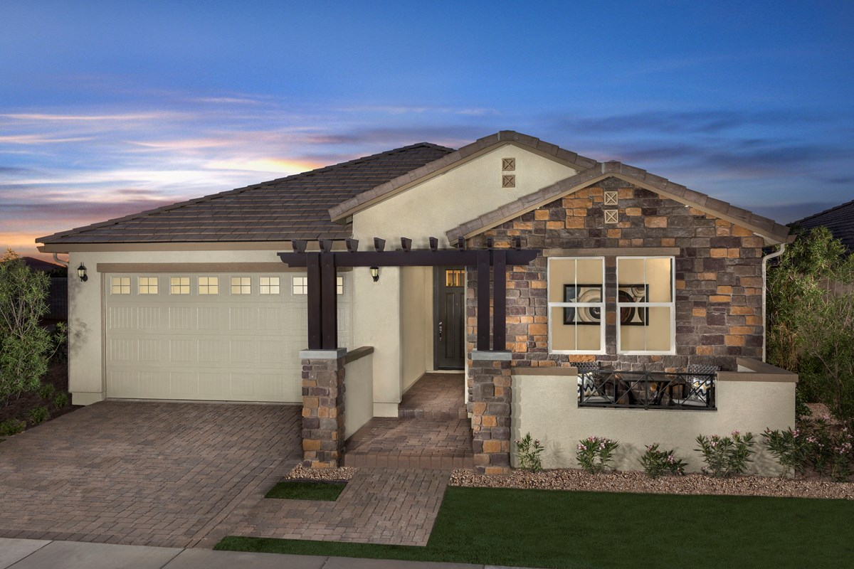 New Homes in Gilbert, AZ - Segretto Plan 2311 Exterior