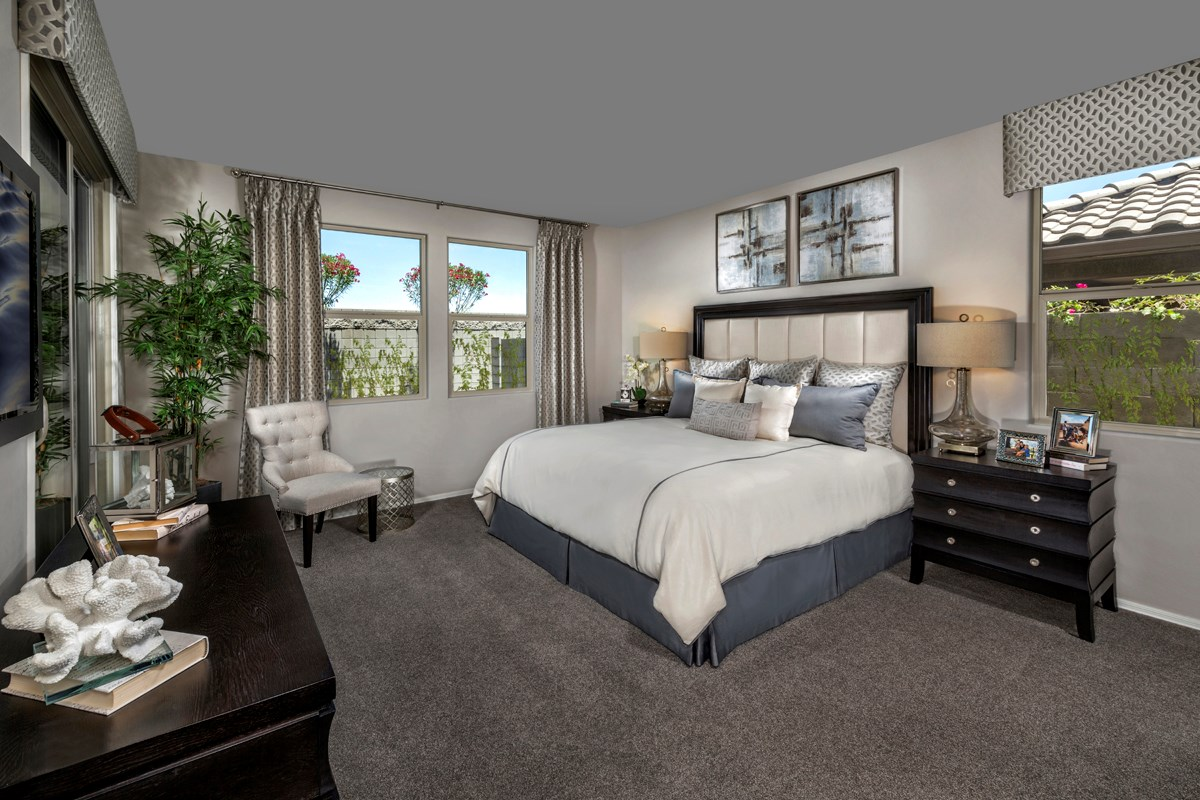 New Homes in Gilbert, AZ - Segretto Plan 2311 Master Bedroom