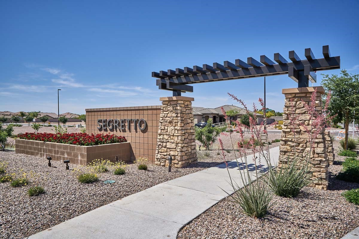 New Homes in Gilbert, AZ - Segretto Segretto Monument