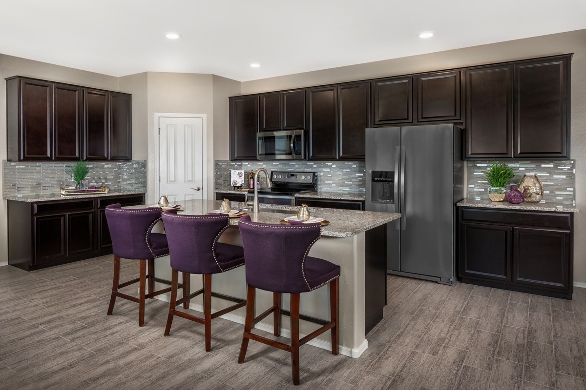 New Homes in Mesa, AZ - The Villas at Sonoran Ridge Plan 1589 Kitchen