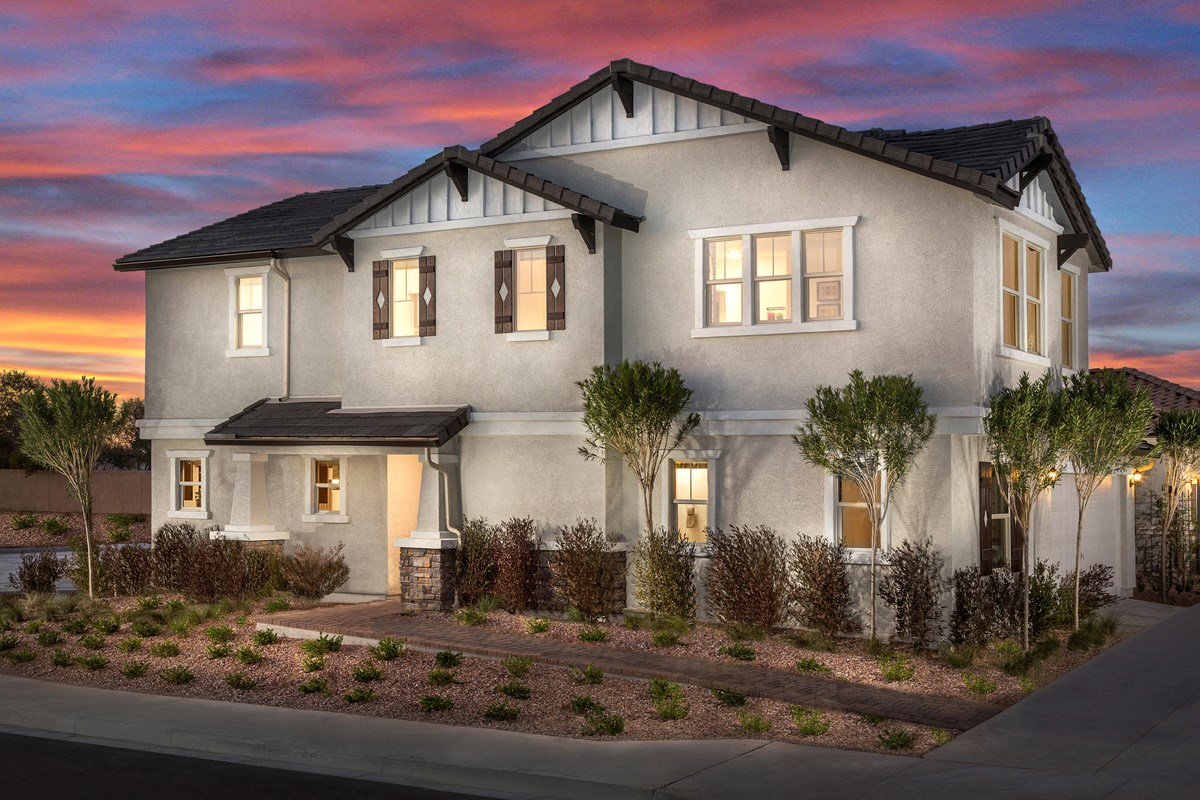 New Homes in Mesa, AZ - The Villas at Sonoran Ridge Plan 2260