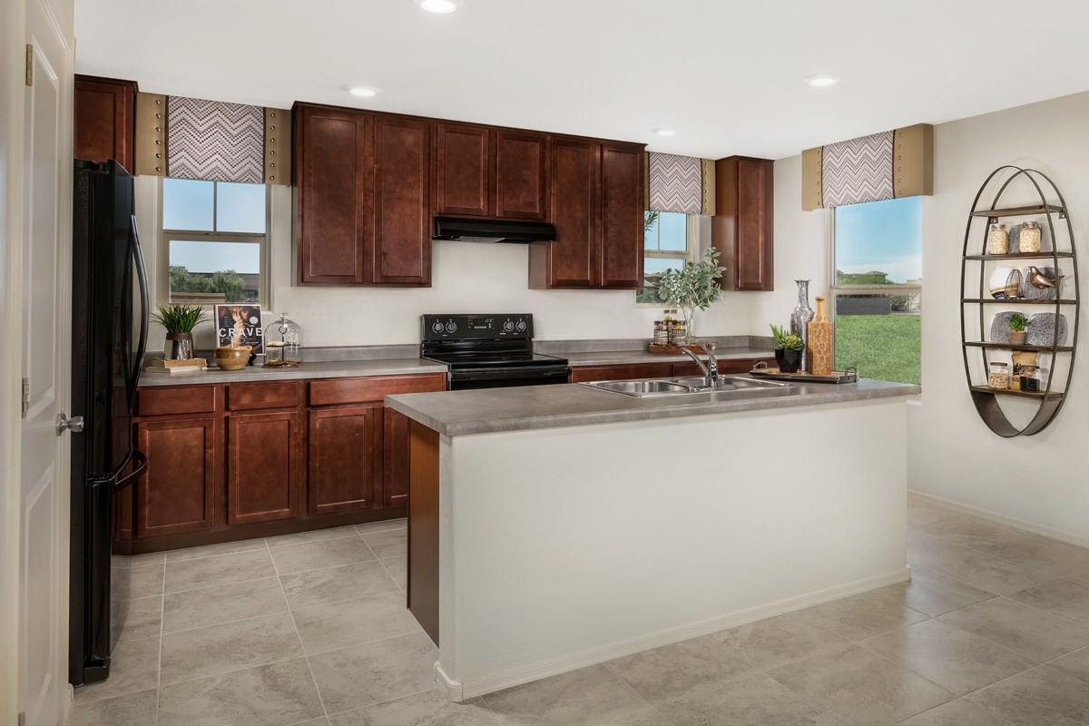 New Homes in Mesa, AZ - The Villas at Sonoran Ridge Plan 2260 Kitchen