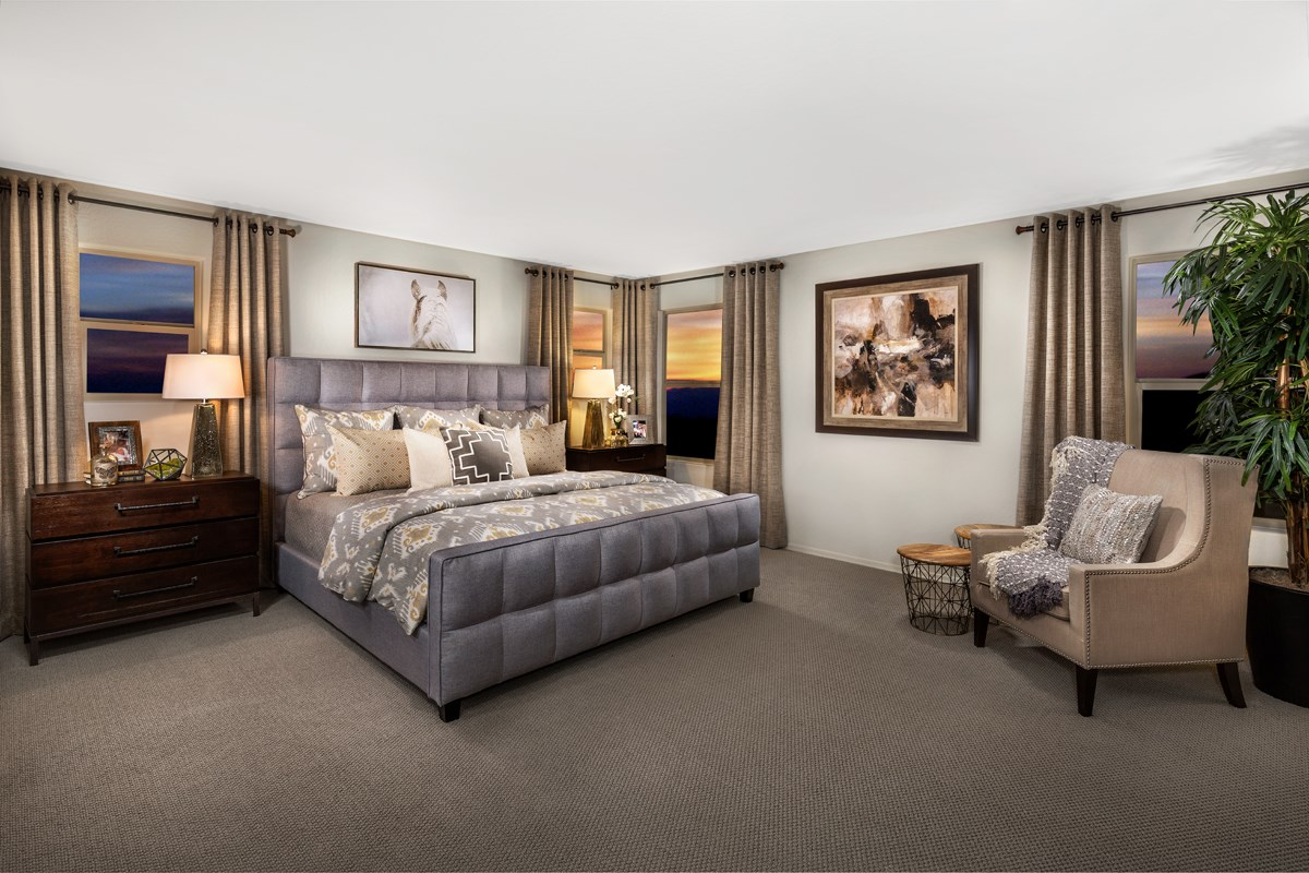 New Homes in Mesa, AZ - The Villas at Sonoran Ridge Plan 2260 Master Bedroom
