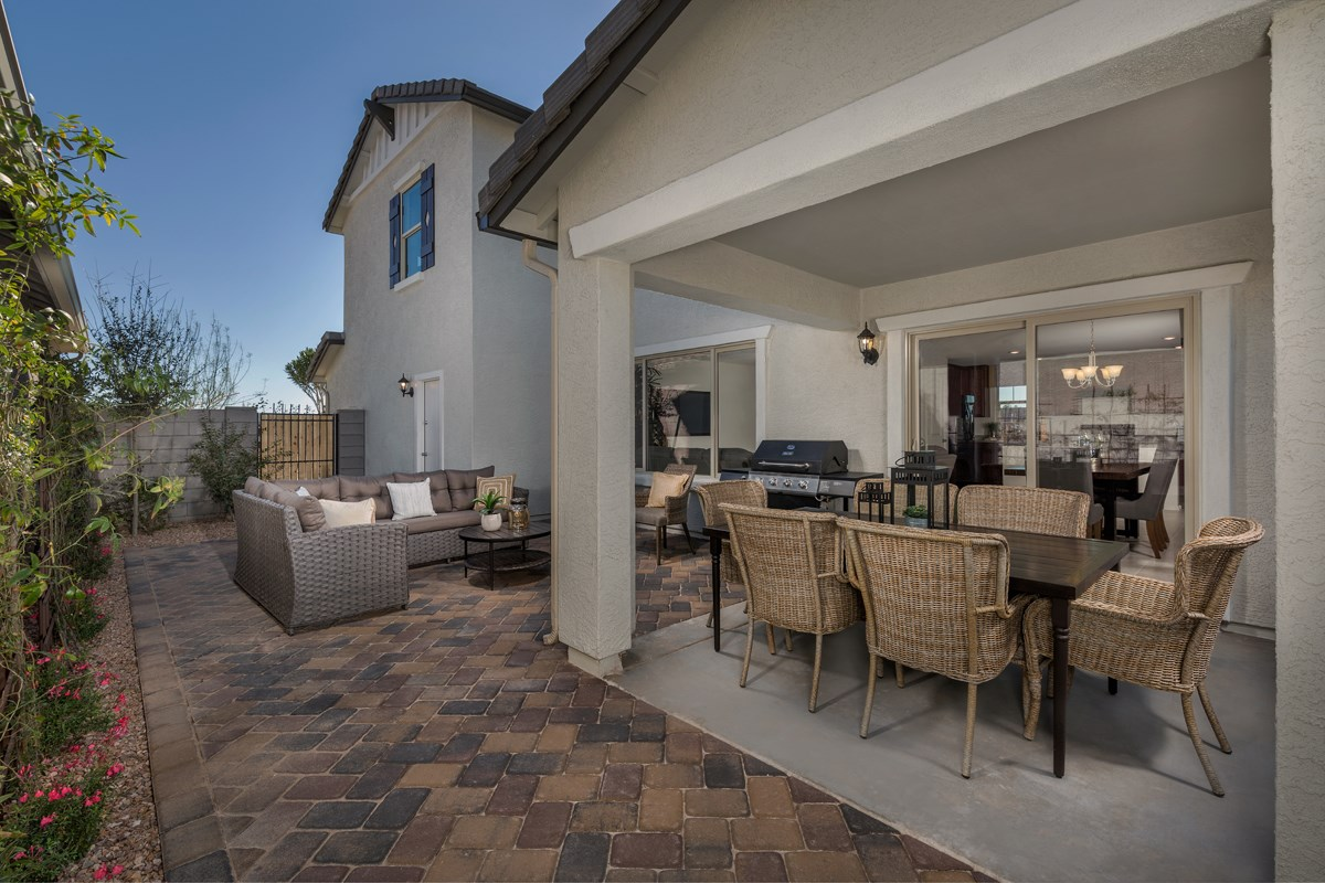 New Homes in Mesa, AZ - The Villas at Sonoran Ridge Plan 2260 Patio