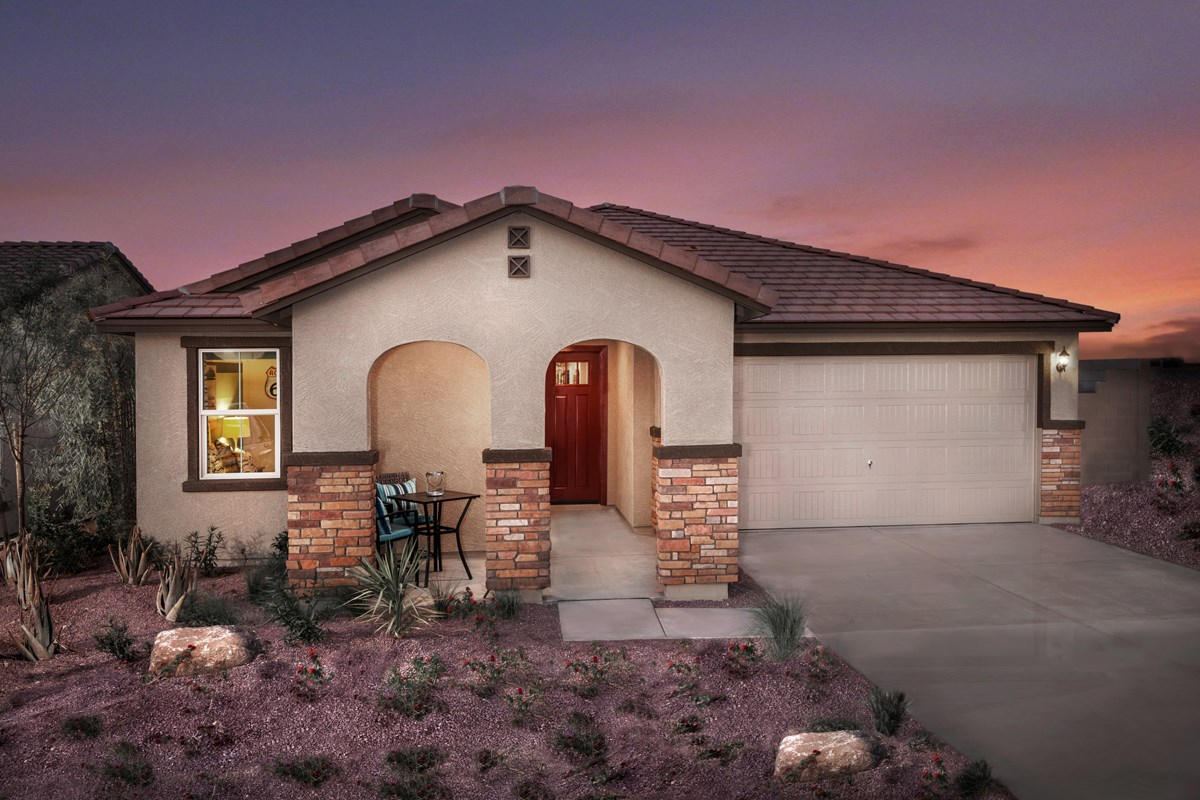 New Homes in Goodyear, AZ - Stone Canyon at Estrella Plan 2201