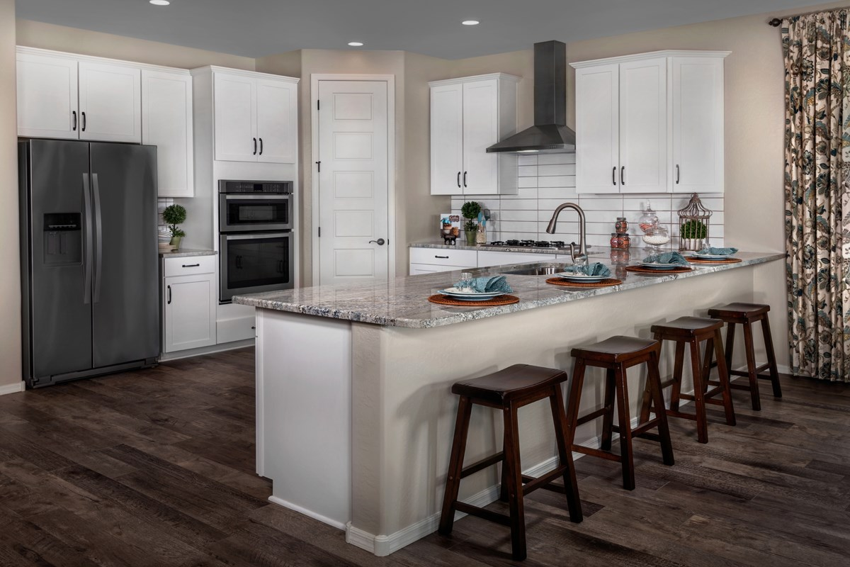 New Homes in Goodyear, AZ - Stone Canyon at Estrella Plan 2201 Kitchen