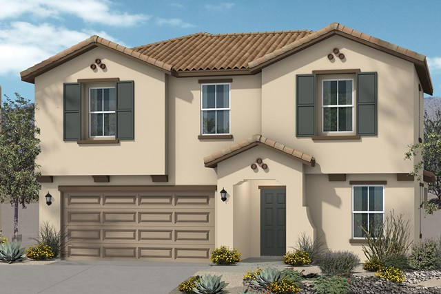 New Homes in Surprise, AZ - Elevation A (2283 sq ft)