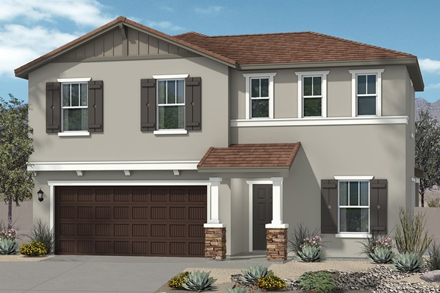 New Homes in Surprise, AZ - Elevation D (2295 sq ft)