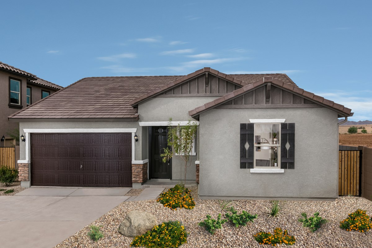 New Homes in Surprise, AZ - Villas at Sycamore Farms Plan 1551 Exterior