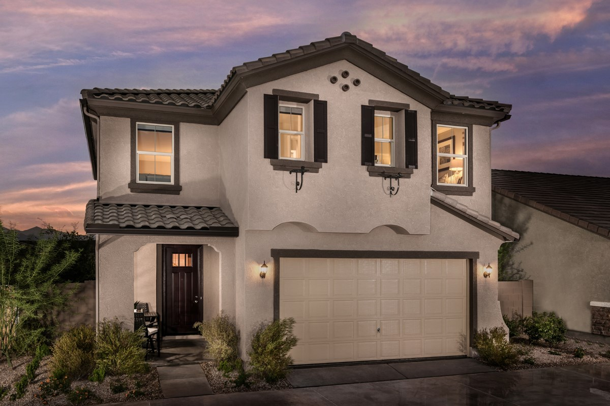 New Homes in Surprise, AZ - Villas at Sycamore Farms Plan 1932