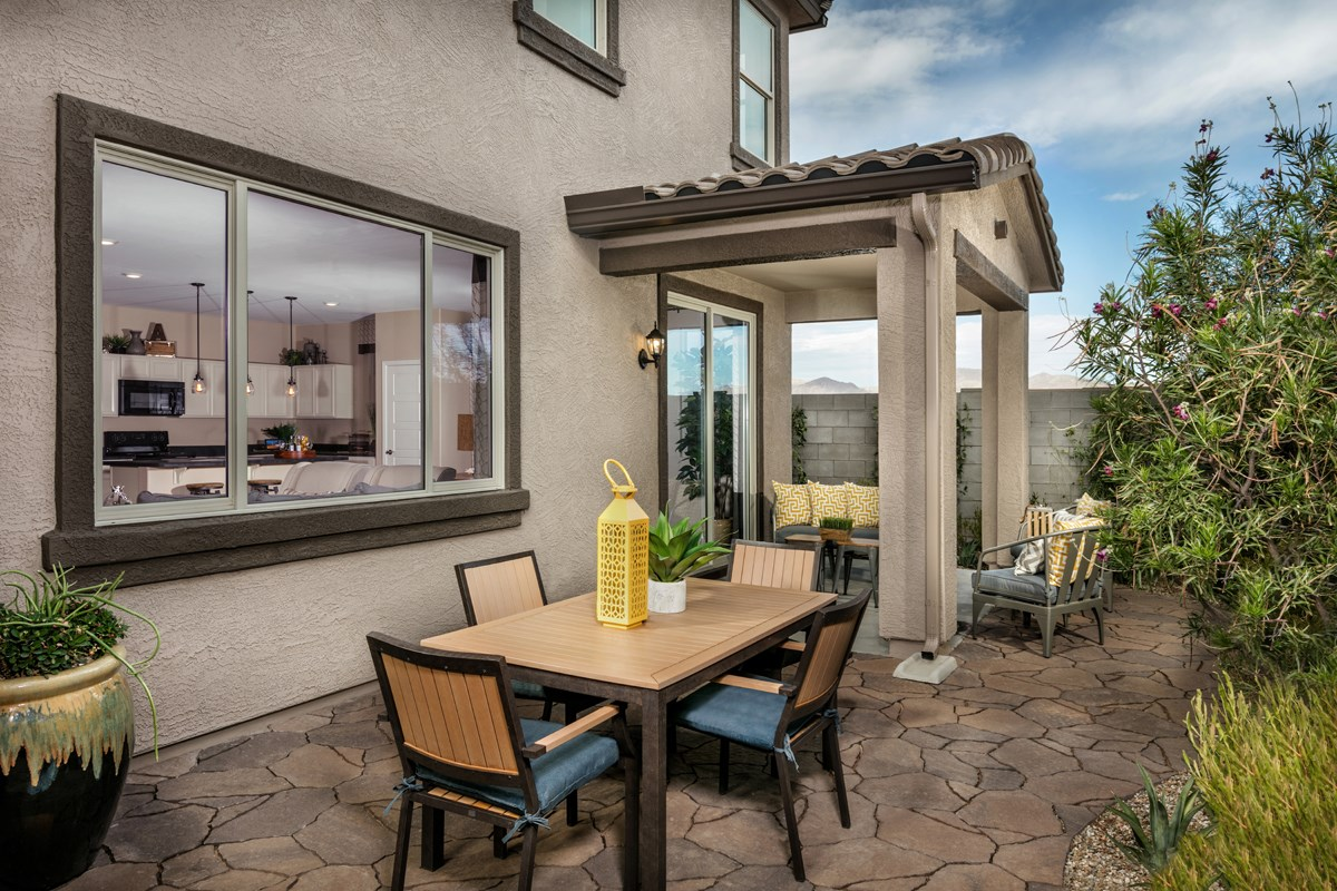 New Homes in Surprise, AZ - Villas at Sycamore Farms Plan 1932 Patio