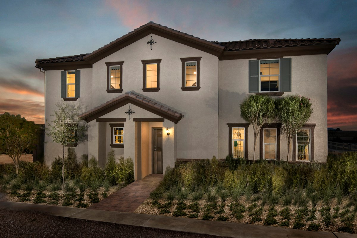 New Homes in Surprise, AZ - Villas at Sycamore Farms Plan 2270 Exterior