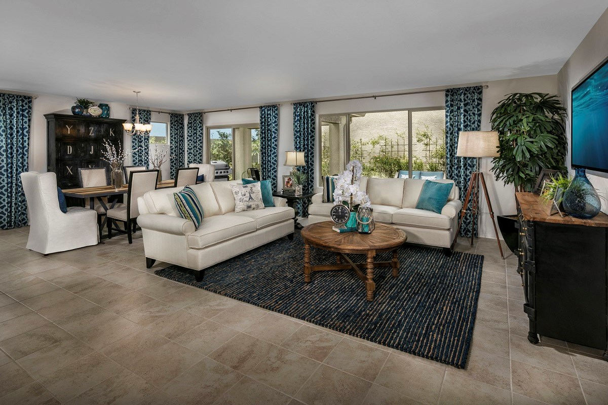 New Homes in Surprise, AZ - Villas at Sycamore Farms Plan 2270 Great Room