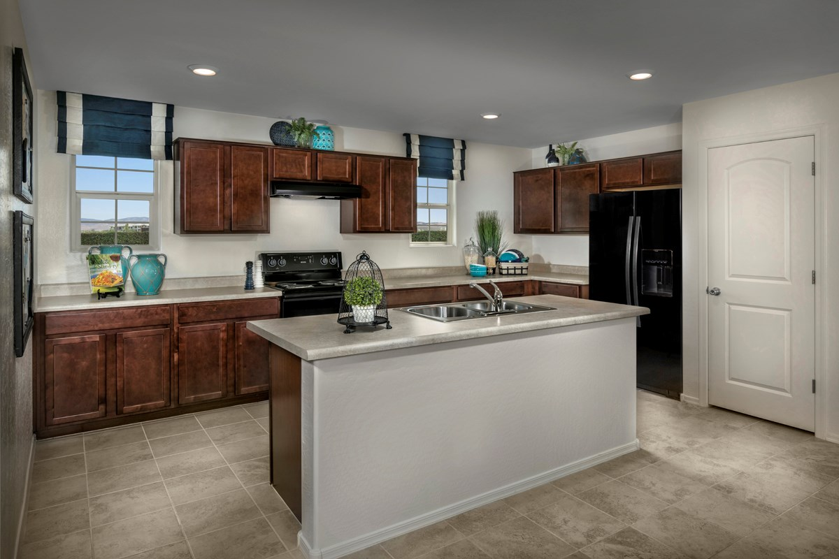 New Homes in Surprise, AZ - Villas at Sycamore Farms Plan 2270 Kitchen