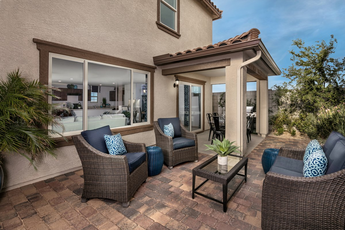 New Homes in Surprise, AZ - Villas at Sycamore Farms Plan 2270 Patio