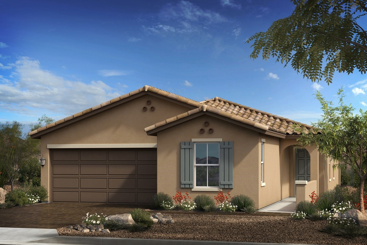 New Homes in Goodyear, AZ - Terra de Oro Plan 1876 Elevation A