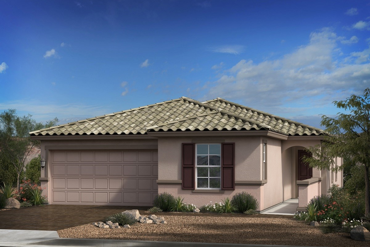 New Homes in Goodyear, AZ - Terra de Oro Plan 1876 Elevation B