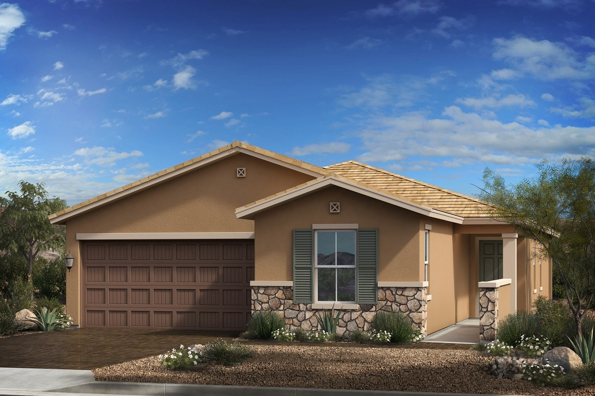 New Homes in Goodyear, AZ - Terra de Oro Plan 1876 Elevation C