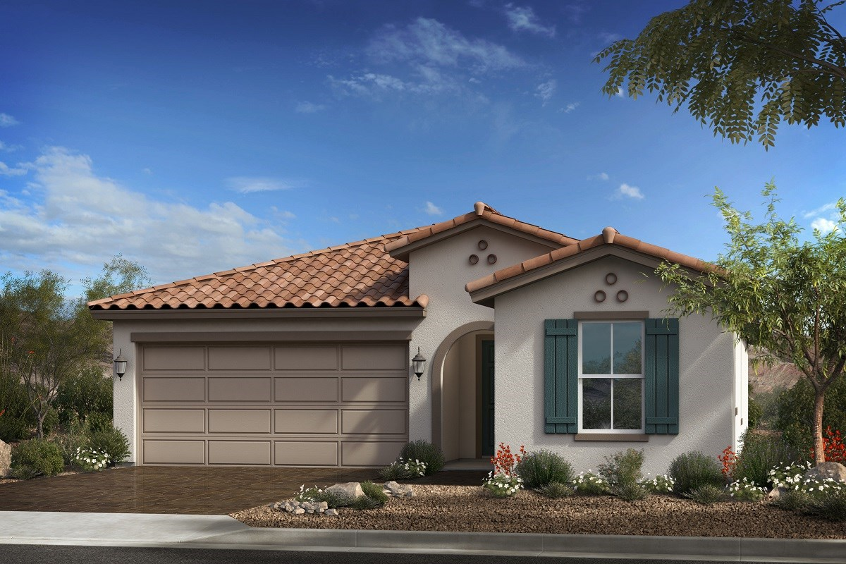 New Homes in Goodyear, AZ - Terra de Oro Plan 2016 Elevation A