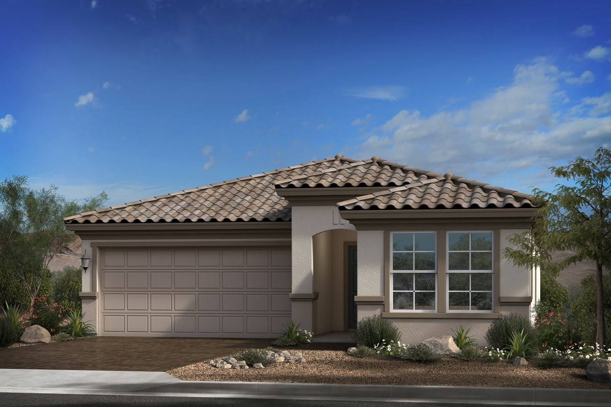 New Homes in Goodyear, AZ - Terra de Oro Plan 2016 Elevation B