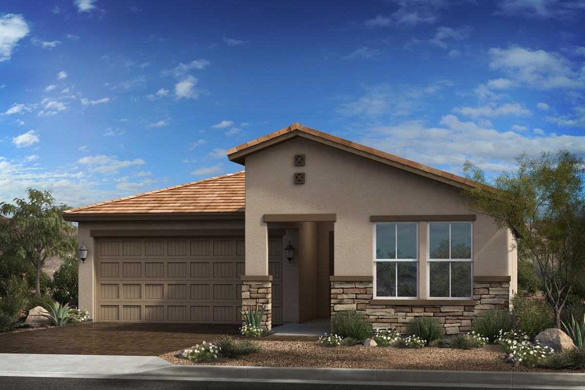 New Homes in Goodyear, AZ - Terra de Oro Plan 2016 Elevation C